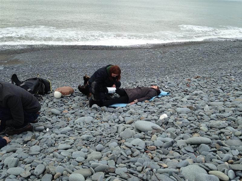 First Aid On the Beach